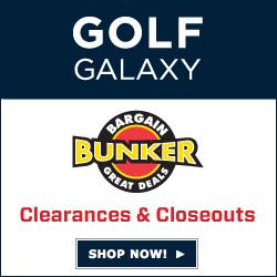 Save BIG in Golf Galaxy's Bargain Bunker!