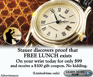 Buy at watch at Stauer.com & get $100 gift card