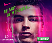 Nike Mercurial - Be Fast. Be Mercurial.