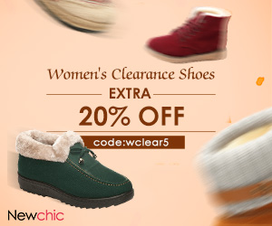 Clearance--20% Off Women Shoes