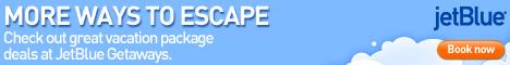 Нажмите на кнопку для входа в систему онлайн-бронирования одного из самых популярных авиаперевозчиков США - JetBlue (откроется в новом окне)! JetBlue Vacation Packages More Ways To Escape!