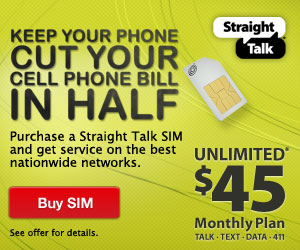 Straight Talk SIM Card Offer!