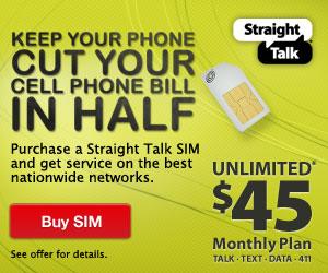 Straight Talk SIM Card Offer!