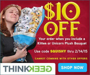 $10 Off Plush Bouquet