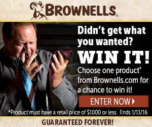 Brownells Gifts for Gun Enthusiasts Banner