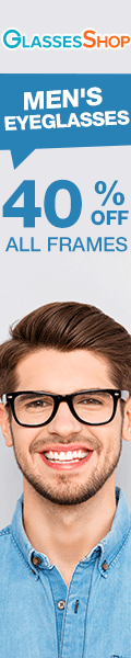 Stylish Men's Eyeglasses - now at Savings of 40% off Men's Frames!  Limited Time Offer - Use Code FR