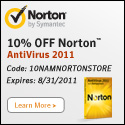 Norton Internet Security 2010 Coupon - 125x125