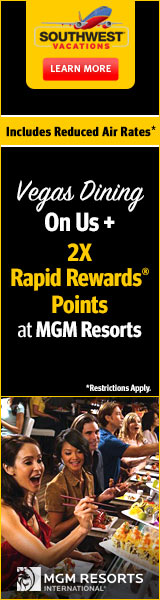 Las Vegas MGM Resorts Sale!
