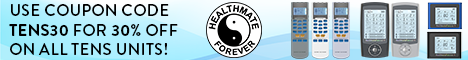 HealthmateForever is offering a 30% discount for ALL TENS Units. Use coupon code: TENS30.