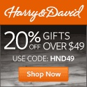 HarryandDavid Coupon: Extra 20% off $49+ order