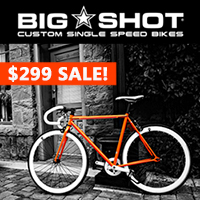 30% Off Limited Edition Fixed Gear Bikes $299