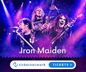 Iron Maiden biljetter