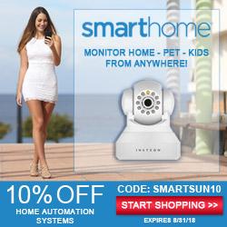 10% off with Coupon Code SMARTSUN10 - shop Smarthome.com