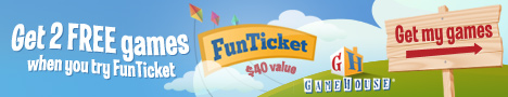 FunTicket � 2 Free Games