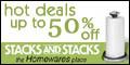 Hot Deals at StacksandStacks.com