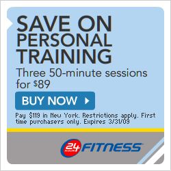 $25 off a 3 year prepaid keep fit ALL CLUB members