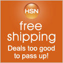 Save BIG with Free Shipping at HSN!