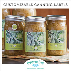 Custom Canning Labels and Tags