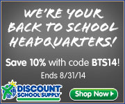 Save 10% On Stock Items During Our Back To School Sale