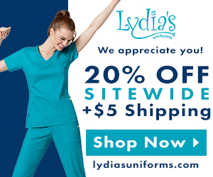 20% off our entire site + $5 Shipping @Lydia's!