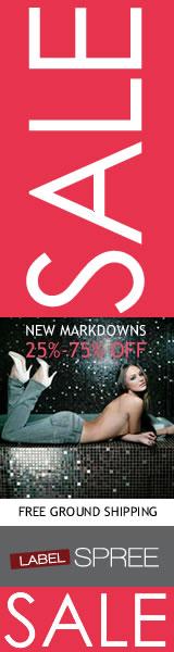 25-75% Off Designer Clothes