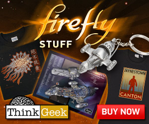 Firefly Swag at ThinkGeek