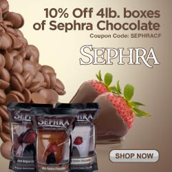 Sephra Chocolate - Use Code 'SEPHRACF' for 10% Off