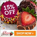 15% off Autumn Strawberries & Sweet Treats (min $29) - 125 x 125