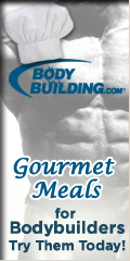 Gourmet Meals for Bodybuilders.