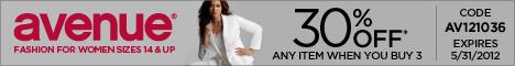 Save on Avenue Plus Size Clothing