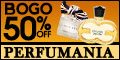 Buy One and Get One 50% off at Perfumania.com
