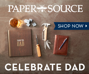 Father's Day gifts from Paper Source