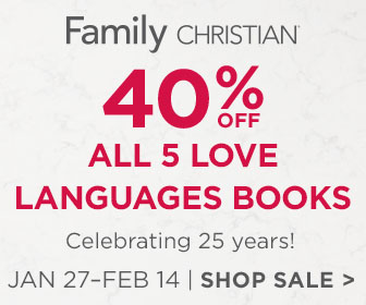 40% off 5 Love Languages books