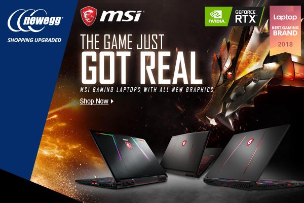 MSI GE Series Gaming Laptop
