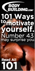 101 Ways to motivate yourself and get in shape.
