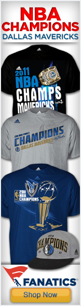 Mav's NBA Champs Gear at Fanatics