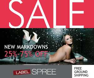 Up to 70% off sale at LabelSpree!
