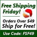 Every Friday in December is Free Shipping Friday!
