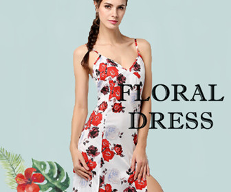 Floral Dress-Decorate Your Spring