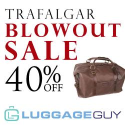 40% Off Trafalgar Bags