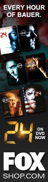 Fox 24 DVDs Jack Bauer