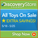 Discovery Channel Toy Sale