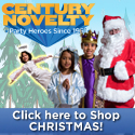 Century Novelty Christmas Supplies, Favors and Gifts