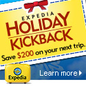 Expedia Holiday Kickback