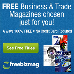 Free Business Magazines - No Credit Card Required