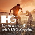 Save up to 25% with IHG!