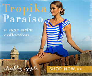 Shop the Tropika Paraíso collection for cute and colorful, retro style swimwear at Shabby Apple!