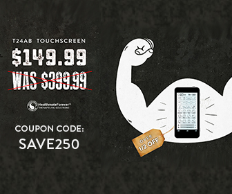 $250 OFF the T24AB TENS Pain Therapy Device with Coupon Code: SAVE250