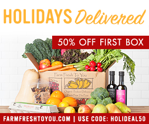 50% Off First Box. Use code HOLIDEAL50