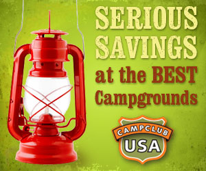 Serious Savings at the Best Campgrounds